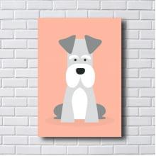 Quadro Decorativo DOG Schnauzer