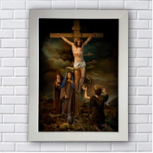 Quadro Decorativo CRUZ JESUS