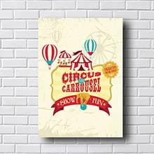 Quadro Decorativo Circus