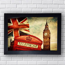 Quadro Decorativo Londres Big Ben