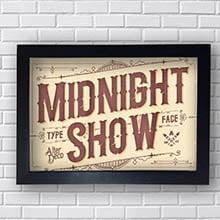 Quadro Decorativo Midnight Show