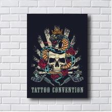 Quadro decorativo TATOO CONVENTION
