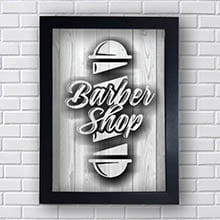 Quadro Decorativo Vintage Barber Shop