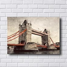 Quadro Ponte de Londres Vintage
