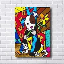 Quadro Britto Dog